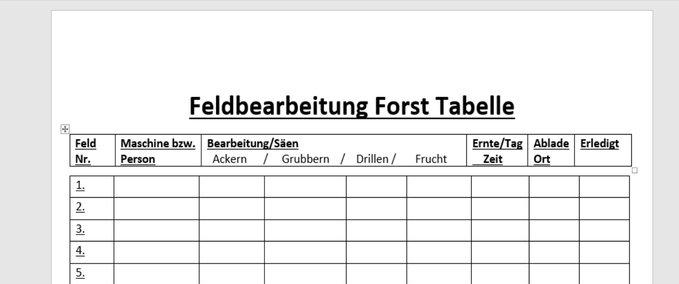 Feldbearbeitung-forst-tabelle-excel