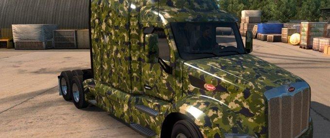 Peterbilt-579-army-skin