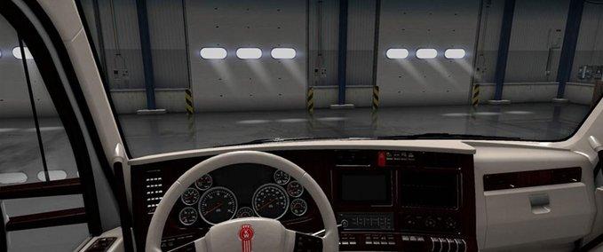 Kenworth-t680-weisses-luxus-interior