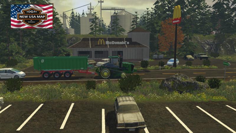FS 15 OGF USA v 12 Maps Mod fr Farming Simulator 15 modhostercom