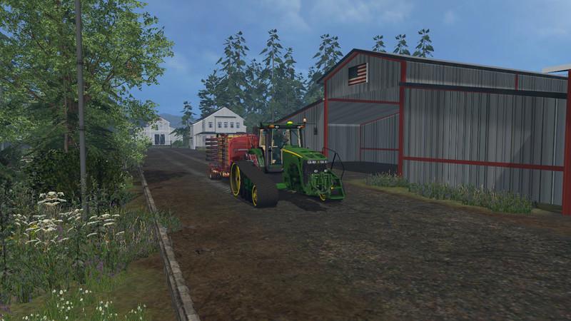FS OGF USA V Maps Mod Für Farming Simulator Modhostercom - Farming simulator 2015 us map feed cows
