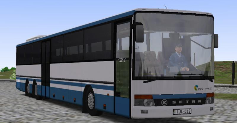 omsi: VVR repaint for Setra S319UL v 1 0 Beta Bus Skins Mod