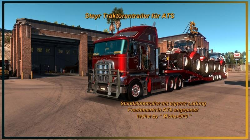 ats: Steyr tractors v 1.0.0 Trailer Mod für American Truck ...