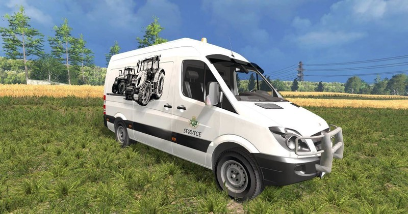 Fs 15 mercedes sprinter service v 1 0 mercedes benz mod for Mercedes benz sprinter service
