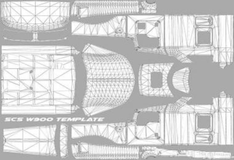 ats scs w900 template v 1 0 tools mod für american truck simulator