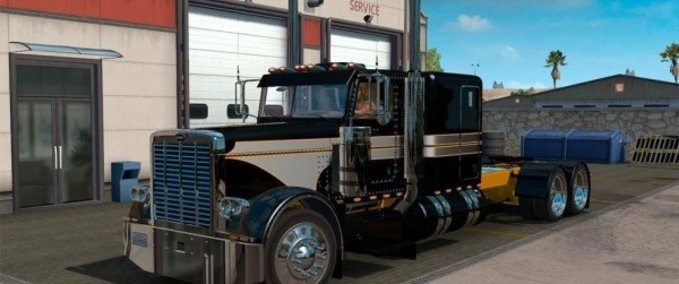 Peterbilt-389-metallic-silver-black