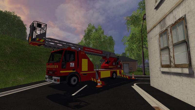 FS 15: EPA Iveco v 1 0 Fire department Mod für Farming Simulator 15