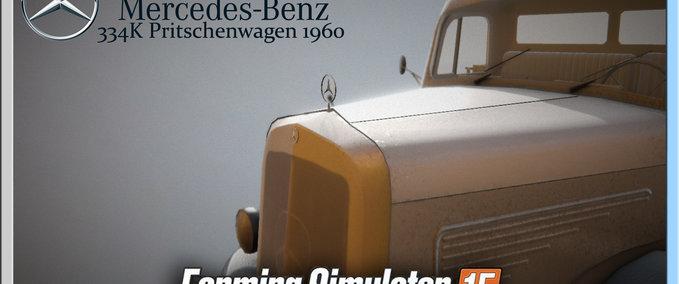 Mercedes-334k-pritschenwagen