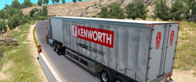 Kenworth-curtain-trailer