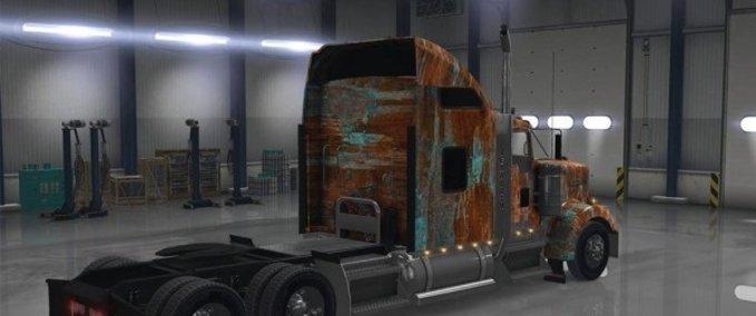 Kenworth-w900-rust