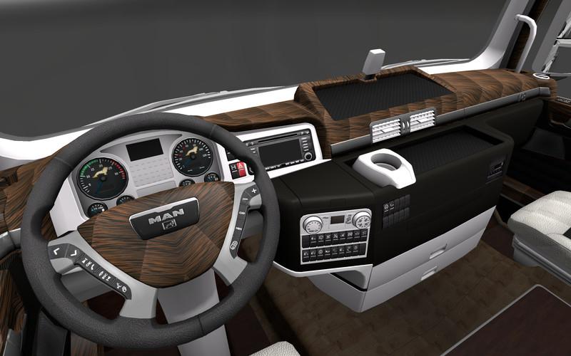 Man Truck Interior 2013 - #traffic-club
