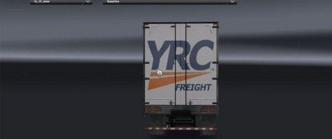 Yrc-freight-trailer