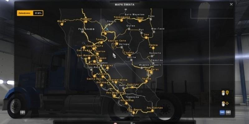 ats Russian City Names v 12 Maps Mod fr American Truck Simulator