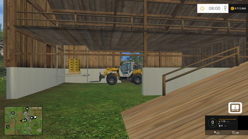 Fs 15 Shed With Hay Blower V 2 0 Nur Mit Giants Editor Placeable Objects Mod F 252 R Farming