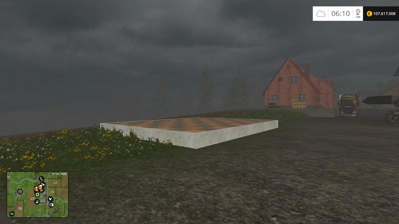Ls 15 gartenhaus f r heimwerker v 1 1 platzierbar geb ude mit funktion mod f r landwirtschafts - Bodenplatte fur gartenhaus ...