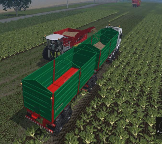 Bitrem Agricultural Trailer V 1.0