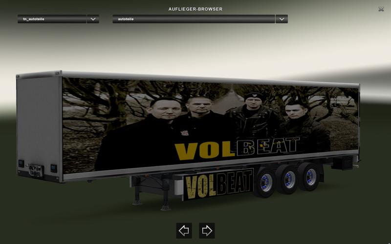 ets 2: Volbeat Trailer Autoteile v 1.1 Trailer Mod für Eurotruck ...
