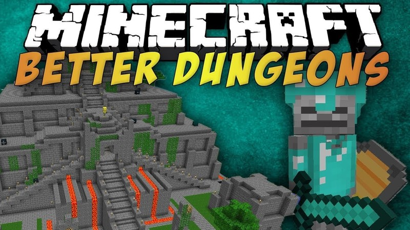 скачать моды на майнкрафт 1.7.10 на better dungeons #7