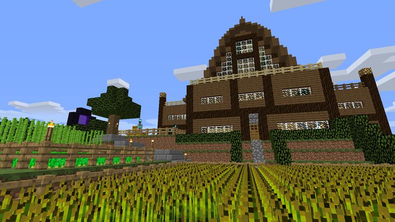 Minecraft Survival Haus V Maps Mod Für Minecraft Modhosterde - Hauser in minecraft einfugen