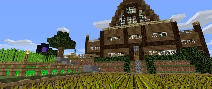 minecraft big house survival map