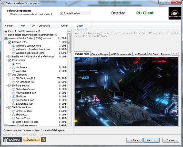 Wotspeak Modpack 0.9 10 Ver