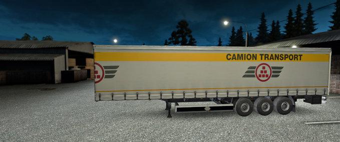 Camion-transport-auflieger
