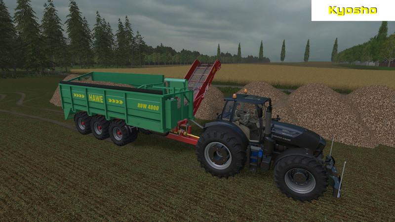 Ls 15 Hawe Ruw 4000 V 2 0 Beta 220 Berladewagen Mod F 252 R Landwirtschafts Simulator 15
