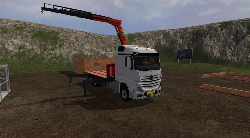 Farming Simulator  Mods Mercedes Voiture