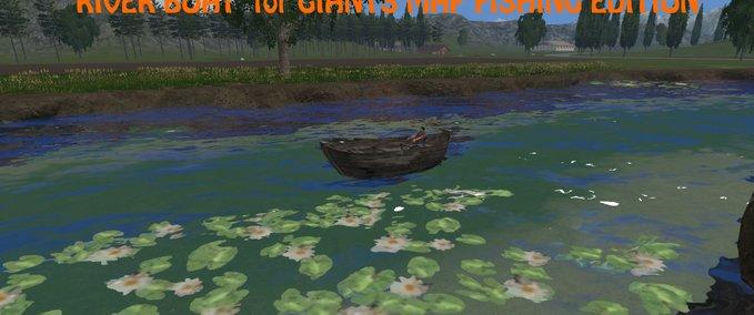 River-boat-fish