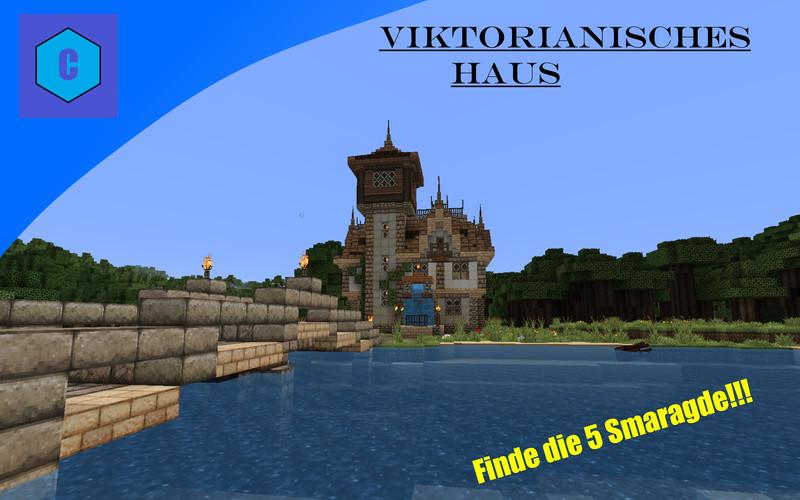 Minecraft viktorianisches haus v 1 9 2 maps mod f r minecraft for Viktorianisches haus