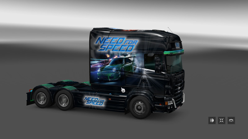 ets 2 need for speed v 1 0 skins mod f r eurotruck. Black Bedroom Furniture Sets. Home Design Ideas