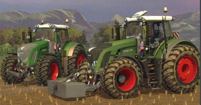Ls 15 Fendt 939 V 3 Vario 900er Mod F 252 R Landwirtschafts