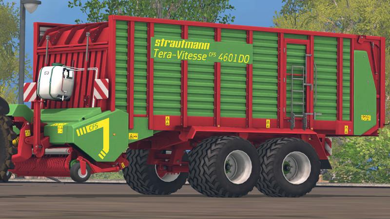 FS 15: Strautmann Tera Vitesse 4601 v 1 1 Forage Wagons Mod