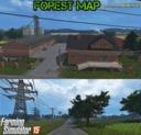 Wald-karte