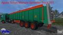 Aguas-tenias-manure-spreader-truck