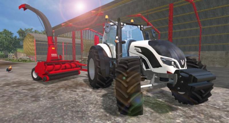FS 15: VALTRA T4 v 1 0 Valtra Mod für Farming Simulator 15