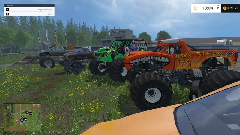 fs 15 monster truck fans v 1 0 other vehicles mod für farming