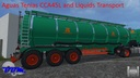 Aguas-tenias-tank-truck-45l
