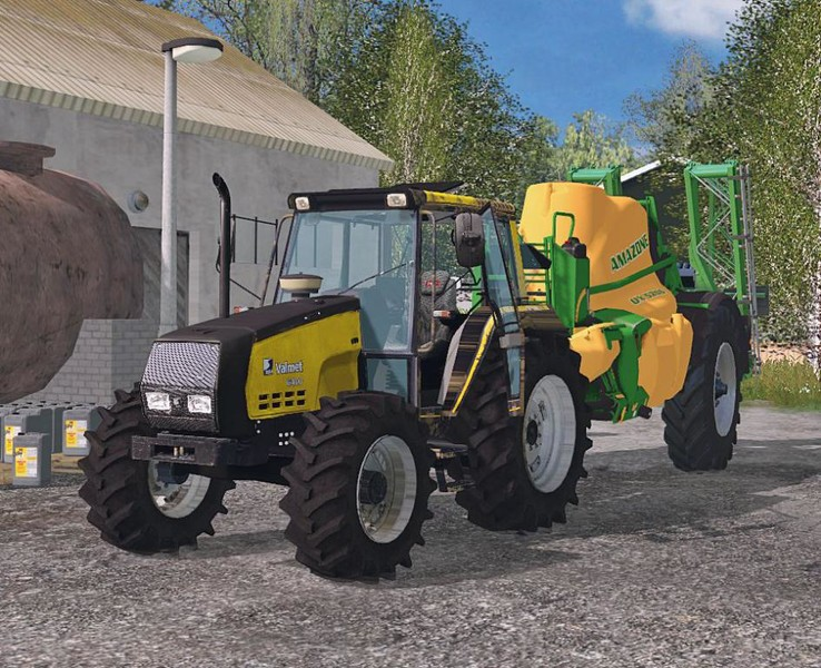 Valtra Valmet 6400 V 2 0 Washable on volvo light tuning