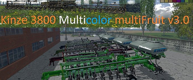 Kinze-3800-multicolor-multifrucht