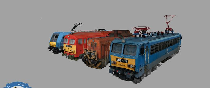 Railroad-pack