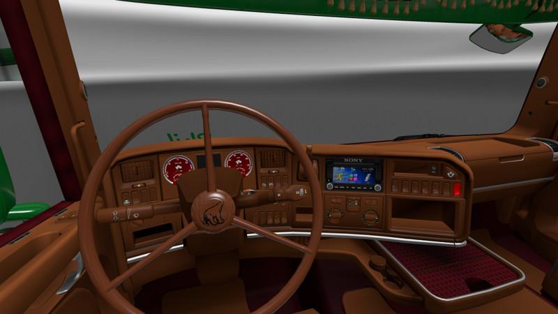 Ets 2 Scania Rjl Interior V 1 0 Interieurs Mod F 252 R
