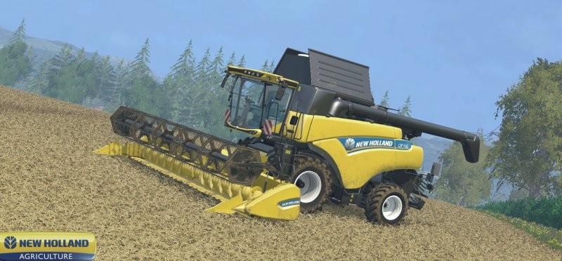 fs 15 new holland v 1 0 new holland mod f r farming simulator 15. Black Bedroom Furniture Sets. Home Design Ideas