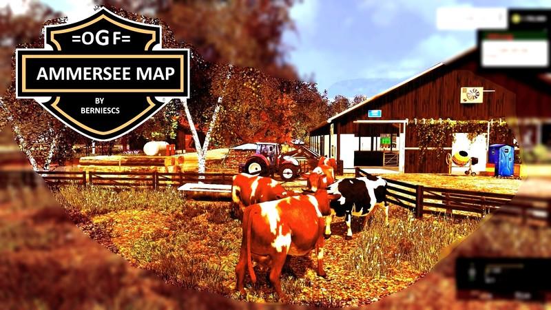FS OGF AMMERSEE MAP V Maps Mod Für Farming Simulator - Wie lade ich mir maps fur minecraft runter