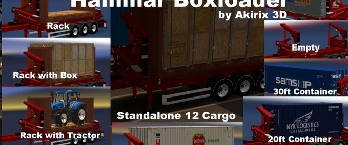 Hammar-container-lader