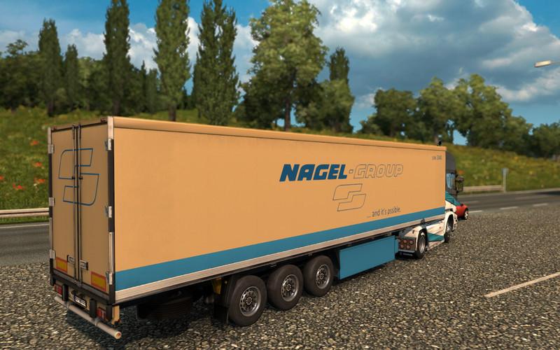 Ets 2 Nagel-Group Trailer V 1.0 Standalone-Trailer Mod Fu00fcr Eurotruck Simulator 2