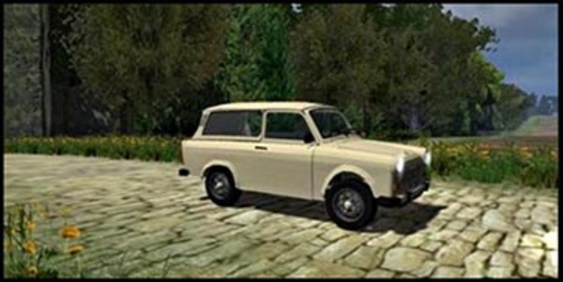 fs 2011 trabant 601 combi v 1 0 cars mod f r farming. Black Bedroom Furniture Sets. Home Design Ideas