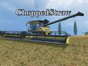 Textur-choppedstraw