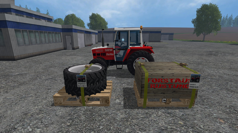fs 15 twin tires snow chains pack steyr 8060 sk2 v 1 mod. Black Bedroom Furniture Sets. Home Design Ideas