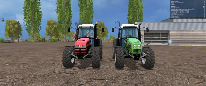 Same-dorado-86-and-deutz-fahr-agroplus-87